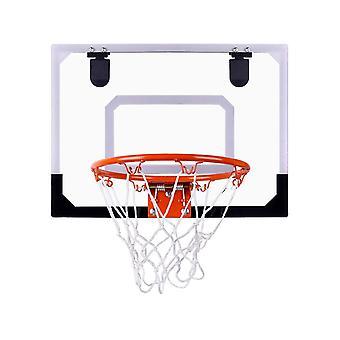 Högkvalitativ basketbräda Box Net Set Backboard Hoop Mini Netball BarnLeksaker