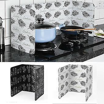 Home Stove Prevent Oil Splash Foil Plate Screens - Cooking Hot Baffle Kitchen
