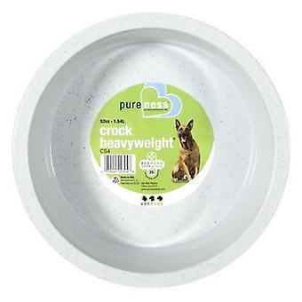 "Van Ness Crock Heavyweight Dish - Large - 8.5"" Diameter (52 oz)"