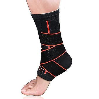 Gait belts 1 pair adjustment protection ankle brace support for sport running fitness thin889
