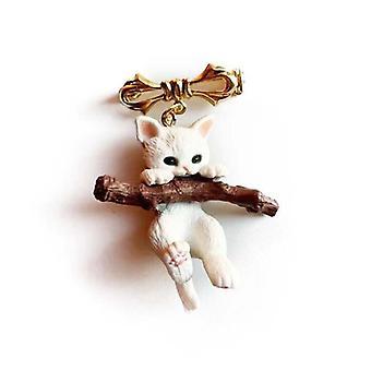 Cute Animal Cat Brooch