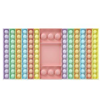 Pop It Game Fidget Chess Board Push Bubble Popper Squeeze Sensory Toy