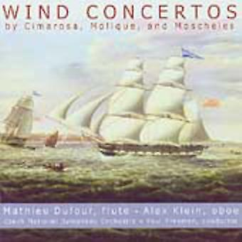Cimarosa/Molique - Wind Concertos by Cimarosa, Molique, and Moscheles [CD] USA import