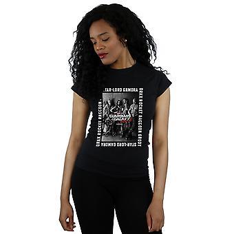 Marvel Frauen Guardians Of The Galaxy gerahmte Poster T-Shirt