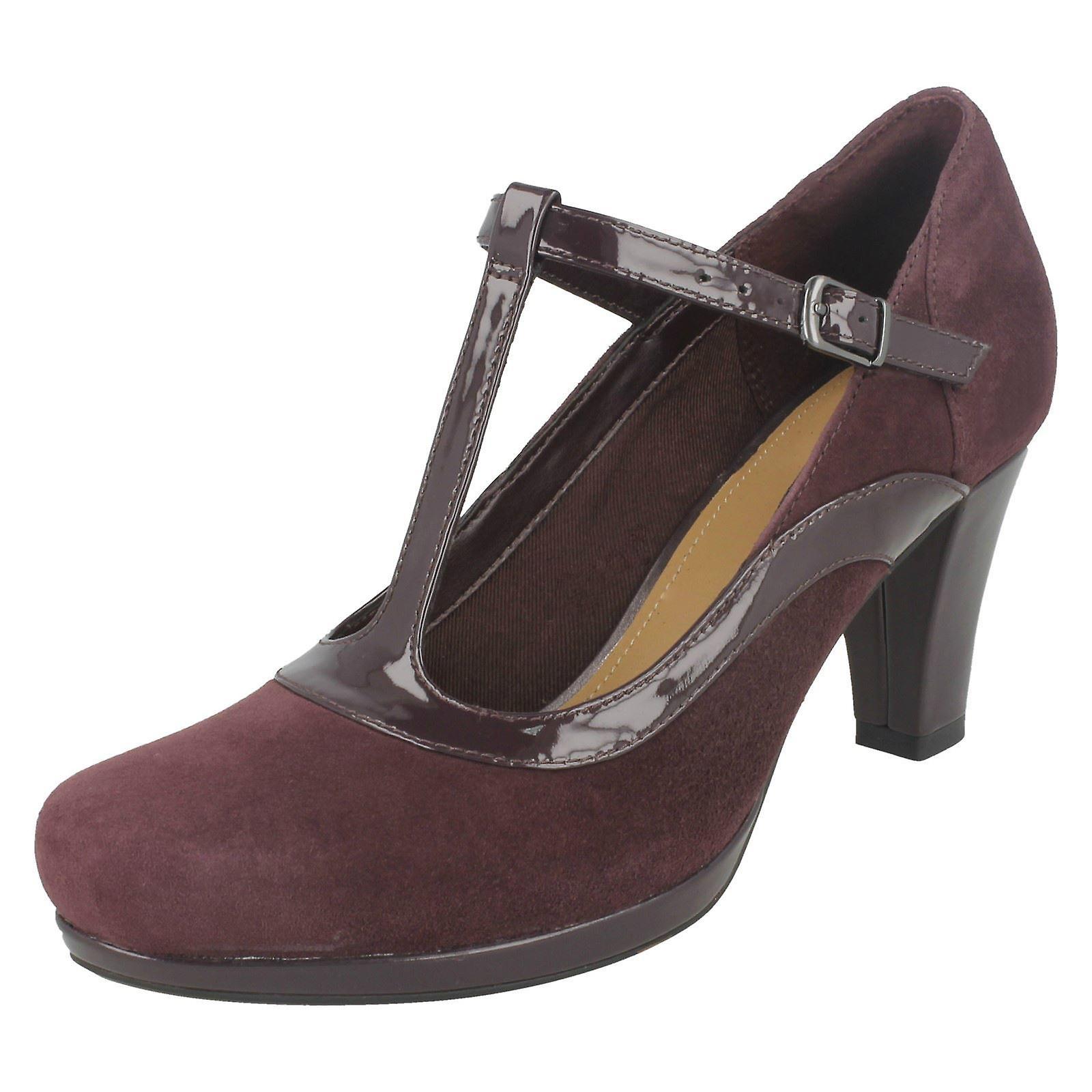 Damskie buty Clarks Court pięty z chórem Pitch RBcXo