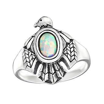 Eagle - 925 Sterling Silver Jewelled Rings - W32329X