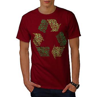 グリーンアートエコファニーメンレッドシャツ|ウェルコダ