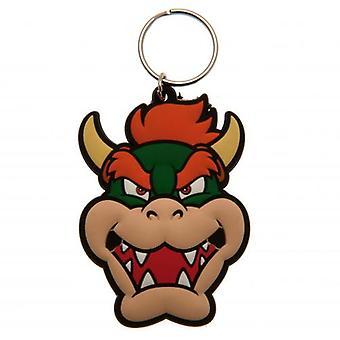 Super Mario Keyring Bowser