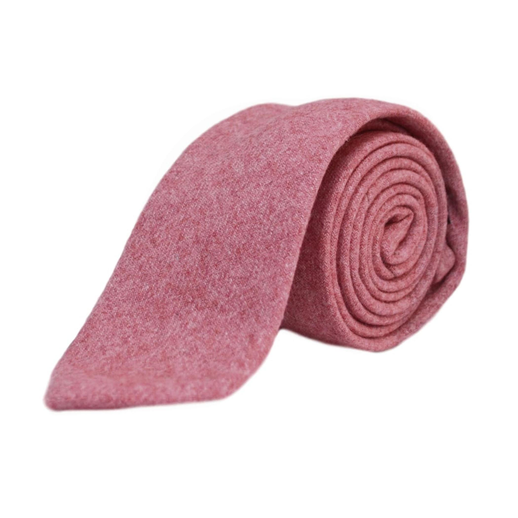 Stonewashed Red Mens Tie, Necktie