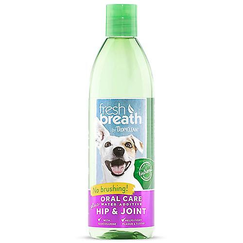 Tropiclean Fresh Breath Oral Care Water Additive Plus Hip & Joint