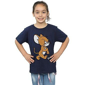 Tom And Jerry Girls Angry Mouse T-Shirt
