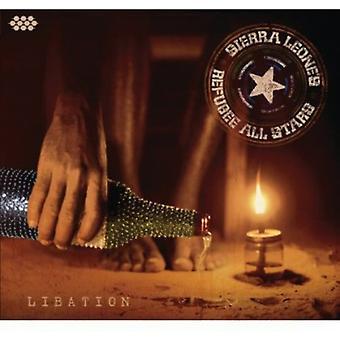 Sierra Leone's Refugee All Stars - Libation [CD] USA import
