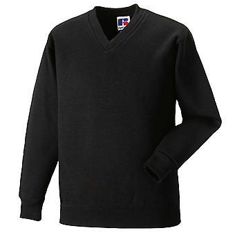 Russell Schoolgear Kids V-Neck Sweatshirt