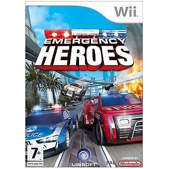 Emergency Heroes (Wii)-nieuw