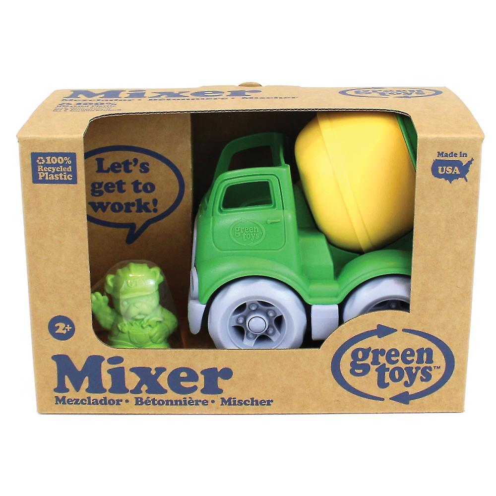 Green Toys Mixer Truck Construction Vehicles BPA Free 100% Recycled