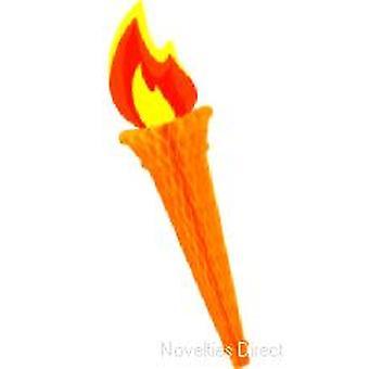 Tissue Torch Decoration