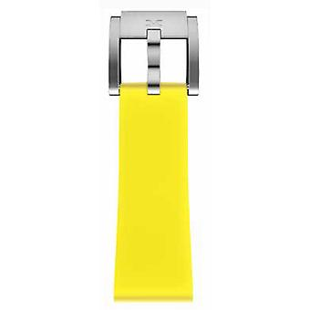 TW Steel Marc Coblen Bracelet Watch band silicone 22 MM yellow SB_Y_S