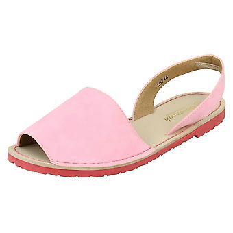 Mesdames Savannah plat Slingback Sandals