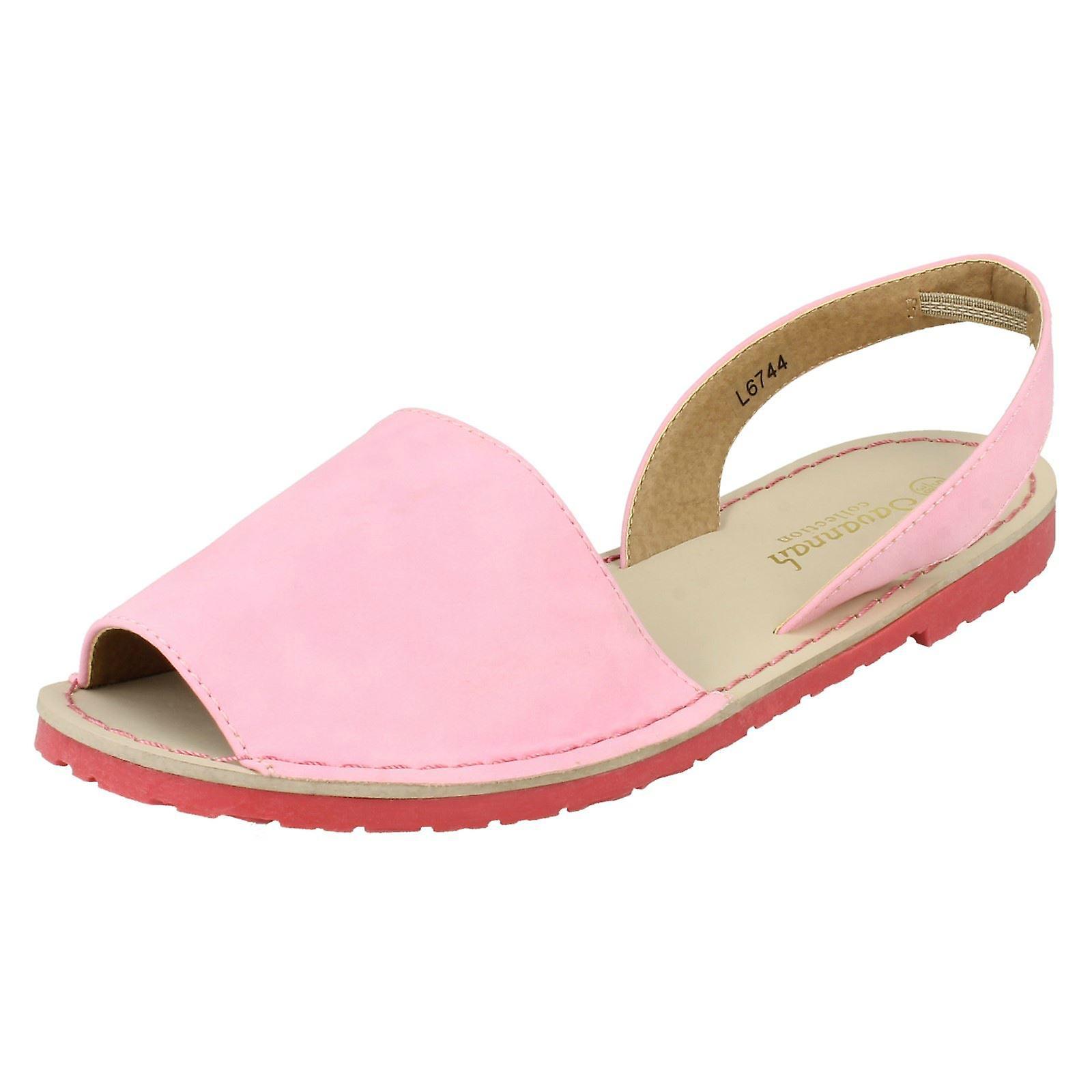 Ladies Savannah Flat Slingback Sandals h3KVW