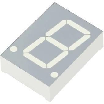 Kingbright sept segments d'affichage vert 20,32 mm 2 n ° V des chiffres: 1 SC08-11CGKWA