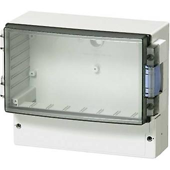 Gabinete do controlador Fibox ABS 17/16-L3 160 x 166 x 106 Acrylonitrile butadieno estireno Cinza fumaça 1 pc(s)