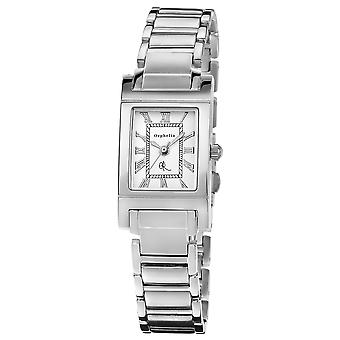ORPHELIA Ladies Analogue Watch Roman Silver Stainless steel 122-2705-18