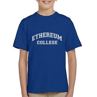 Ethereum College Kid's T-Shirt