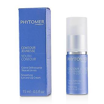 Phytomer Youth Contour Smoothing Eye And Lip Cream - 15ml/0.5oz