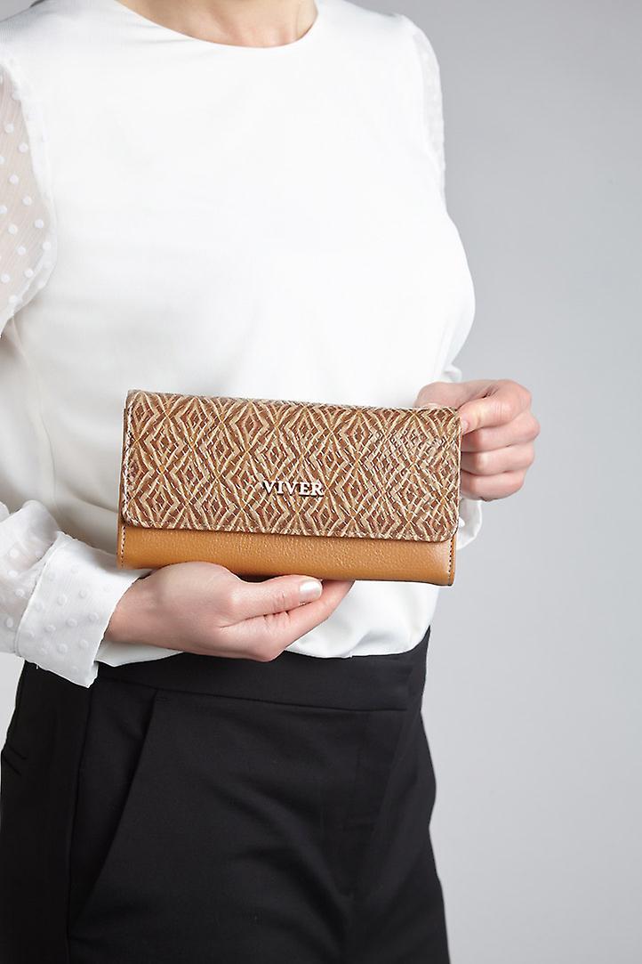 VIVER Designer Leather Purse