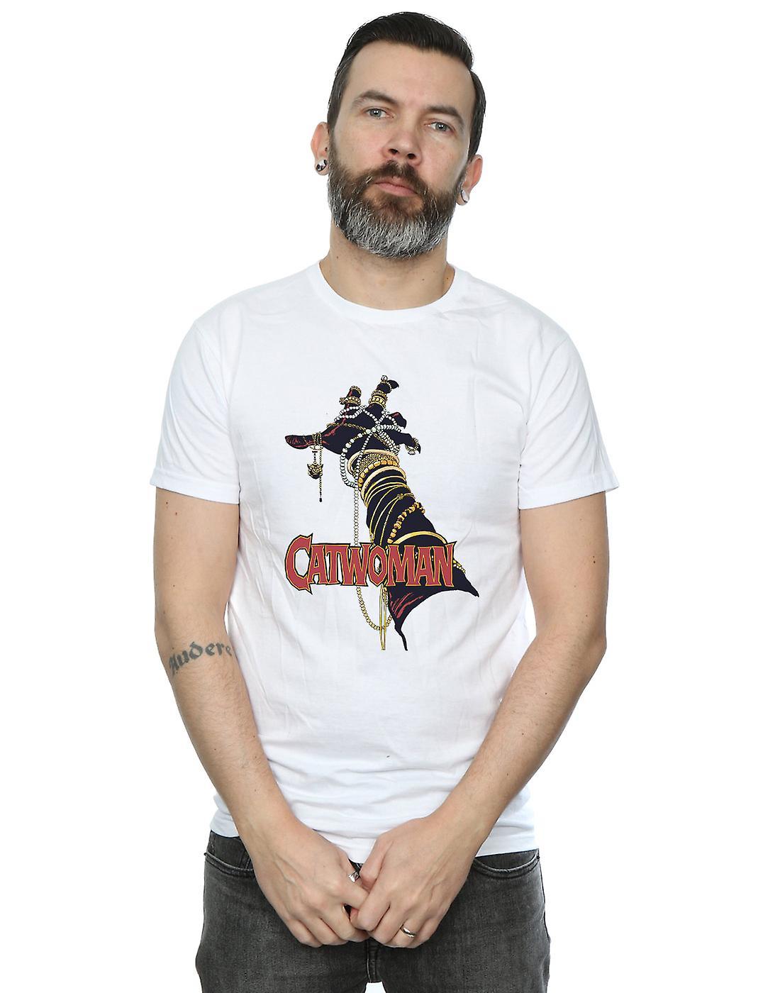 DC Comics Men's Batman Catwoman Friday T-Shirt