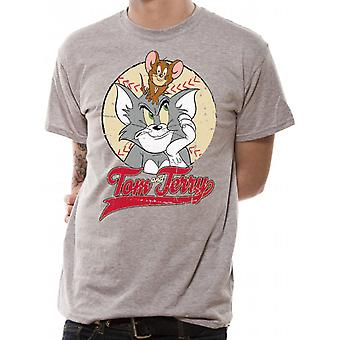 Tom And Jerry-Tk Baseball T-Shirt