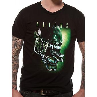 Aliens-Alien Head T-Shirt