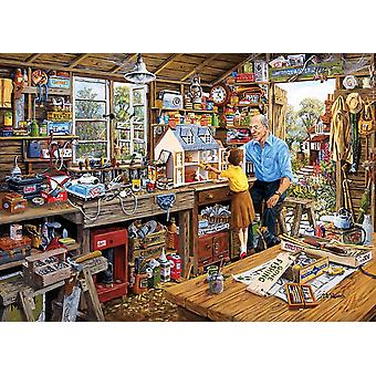 Gibsons opa de Workshop Jigsaw Puzzle (500 XL stukken)