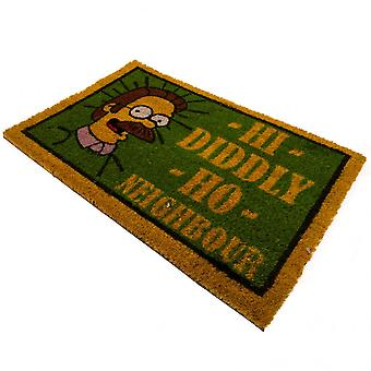 The Simpsons Flanders Doormat