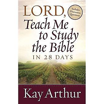 Heer, leer mij te bestuderen van de Bijbel in 28 dagen