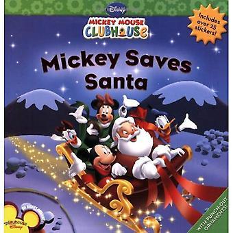Mickey sparar Santa [med Sticker(s)]