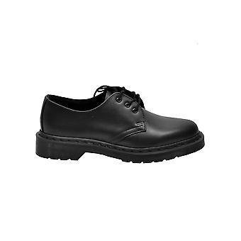 Dr. Martens 1461bksm14345001 Women's Black Leather Lace-up Shoes