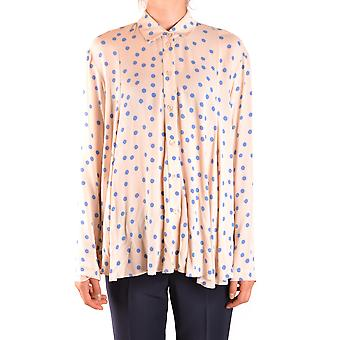 Alysi Ezbc134001 Women's Bege Viscose Shirt