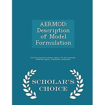 AERMOD Descripción de modelo formulación eruditos opción edición por agencia de protección ambiental
