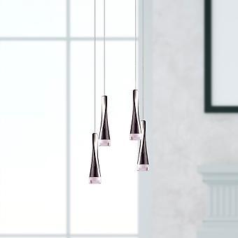 Moderne anheng LED lampe lysekrone taket lys 4 anheng Square baldakin nye