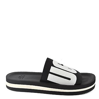 UGG Zuma Black Graphic Slide