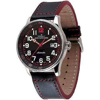 Zeno-watch mens watch X-large pilot automatic P554-a17