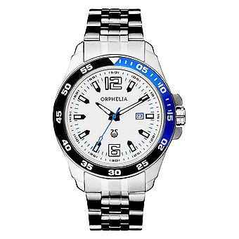 ORPHELIA Mens Analogue Watch Urban Silver Stainless steel 62507