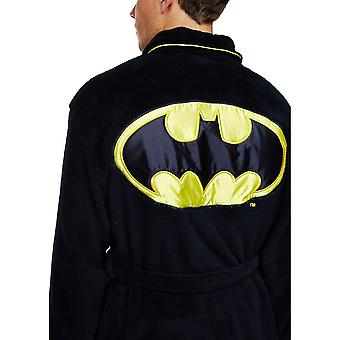 DC Comics Batman Adult Fleece Dressing Gown-ONE SIZE