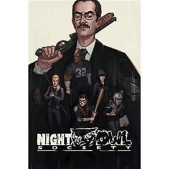 Night Owl Society by James Venhaus - 9781631409332 Book