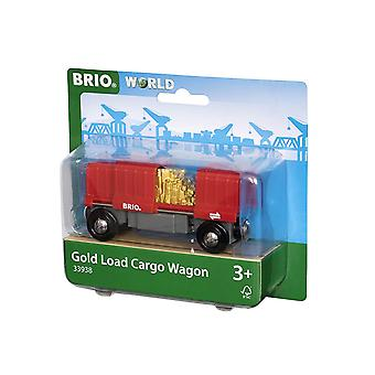BRIO World - Güterwagen mit Goldladung