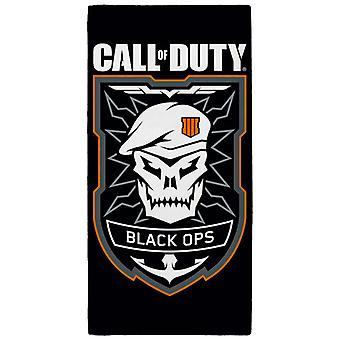 Call of Duty Black Ops emblem handduk