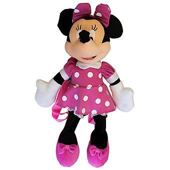 Mochila de pelúcia - Disney - Minnie Mouse 3D Pink Dot- Doll 28465