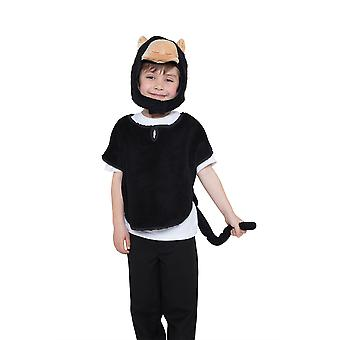 Bristol Novelty Childrens/Kids Monkey Tabard Hood And Tail Costume Set