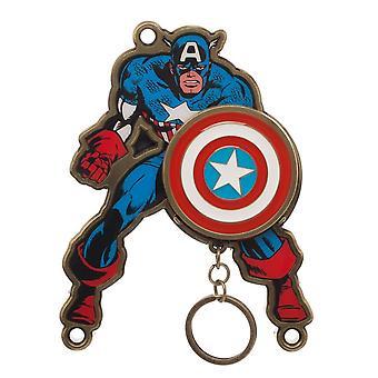 Key Chain - Captain America - Magnetic Key Holder New ke6cplmvu